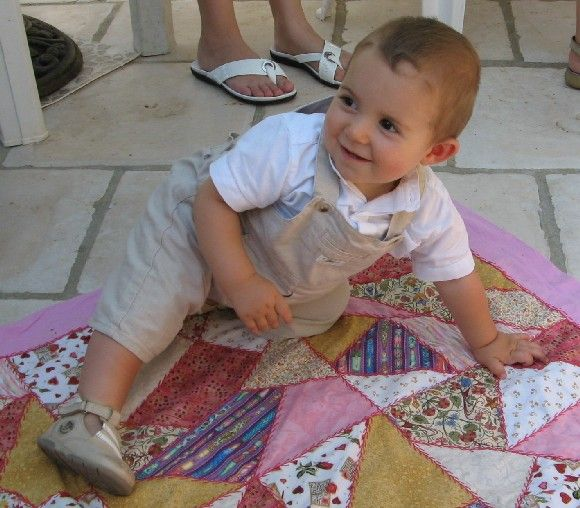 Oscar sur tapis