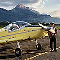 F-PPEJ Echo juliet le petit avion jaune