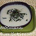 soupe chou fleur