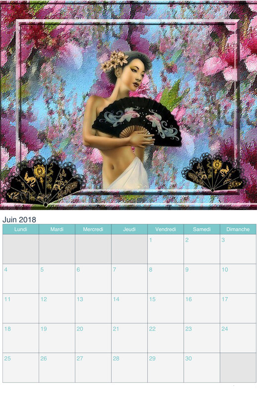 calendrier chinoise