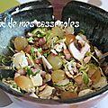 Salade de choux de bruxelles automnale