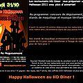 [Event] Opération spéciale Halloween au <b>HD</b> <b>Dinner</b>