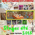Liste des stages d'été pour les enfants