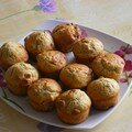 Muffins figues noix