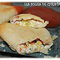 Samoussas carottes , courgettes , fromage