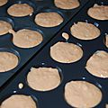 Bouchees carottes munster cumin ( thermomix)
