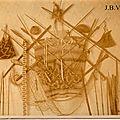 panoplie d'armes de Tobas - Chaco