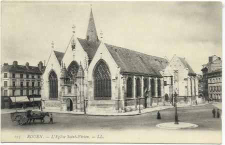 76 - ROUEN - Eglise Saint Vivien
