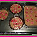 Clafoutis chocolat / fraise