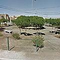 Rond-point à <b>Calama</b> (Chili)