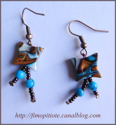 pate fimo collier bracelet bijoux boucles d'oreilles (7)