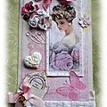 Suite de mes cartes-tags shabby