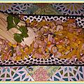 Salade poivron-<b>surimi</b>-jambon