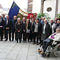 Masevaux-niederbruck: la classe 37 reçue à la mairie