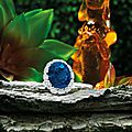 34.53 carats Burmese <b>Oval</b> <b>Sapphire</b> and Diamond Ring