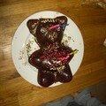le gateau au chocolat nounours