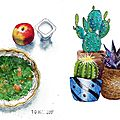 10 - Your lunch / 11 - A cactus