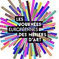Journées européennes des métiers d'art 2016