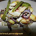 0601 Poelée de fenouil, poivron et gnocchi 1