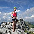 24 - Le sommet avec pointe de dran