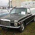 Mercedes 240 d w115 corbillard pilato (1968-1976)
