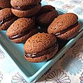 Whoopies cacao-chocolat