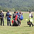 Les Parachutistes de l'équipe de FRANCE