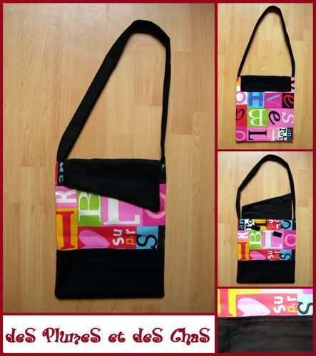 sac lettres rectangle