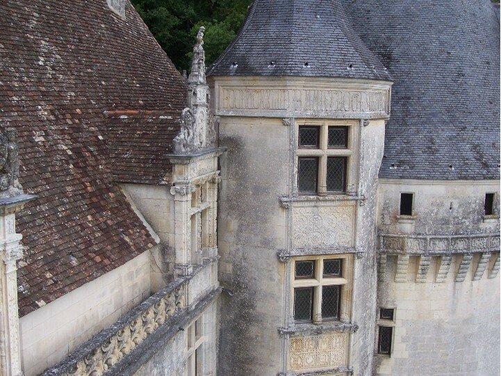 TOUR DECOREE INSCRIPTIONS PERSONNELLES D'EPOQUE FRANCOIS 1er