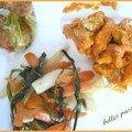 Emincé de poulet au safran