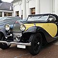 <b>BUGATTI</b> type 57 Stelvio cabriolet carrossé par Gangloff 1934