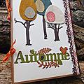 l'automne en feutrine