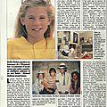 A dix ans, kellie parker a séduit la superstar jackson, télé loisirs, 1988