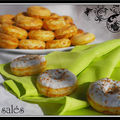 <b>Donuts</b> (ou doughnuts) salés...