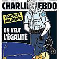 Violences policières, on veut l'égalité - Charlie Hebdo N°1454 - 3 juin 2020