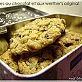 Cookies au chocolat & aux werther's original