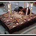 Royal poires chocolat « oasis des lônes »