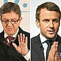 Jean-luc mélenchon demande à emmanuel macron de faire un geste pour convaincre ses insoumis de voter en sa faveur.
