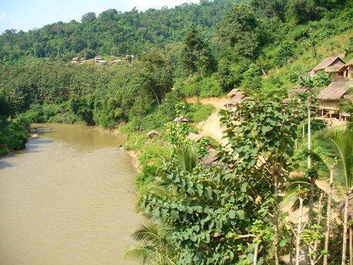 Laos, Luang Prabang à Vengviang 029