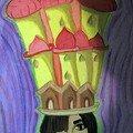 Gabrielle Les chapeaux-villes adolescente