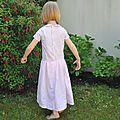 Quatre ans et la robe