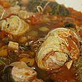 Paupiettes de chou au haché végétal et riz