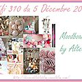 Défi 310 du 5 décembre 2016 - cartes de batchaka, vinou, gribouillette et ciléa