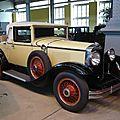 GRAHAM PAIGE Model 621 roadster 1929 Bruxelles Autoworld (1)