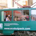 Tramway à Sofia
