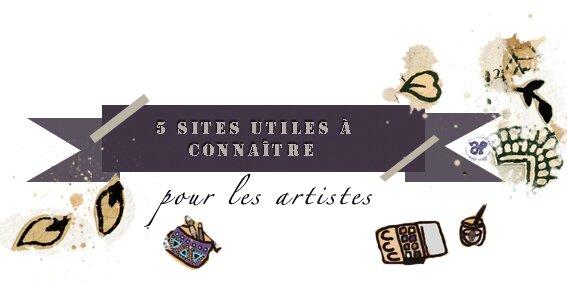 5 sites utiles à connaître pour les artistes