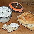 Fauxmage frais à la cacahuète (ail et sarriette)