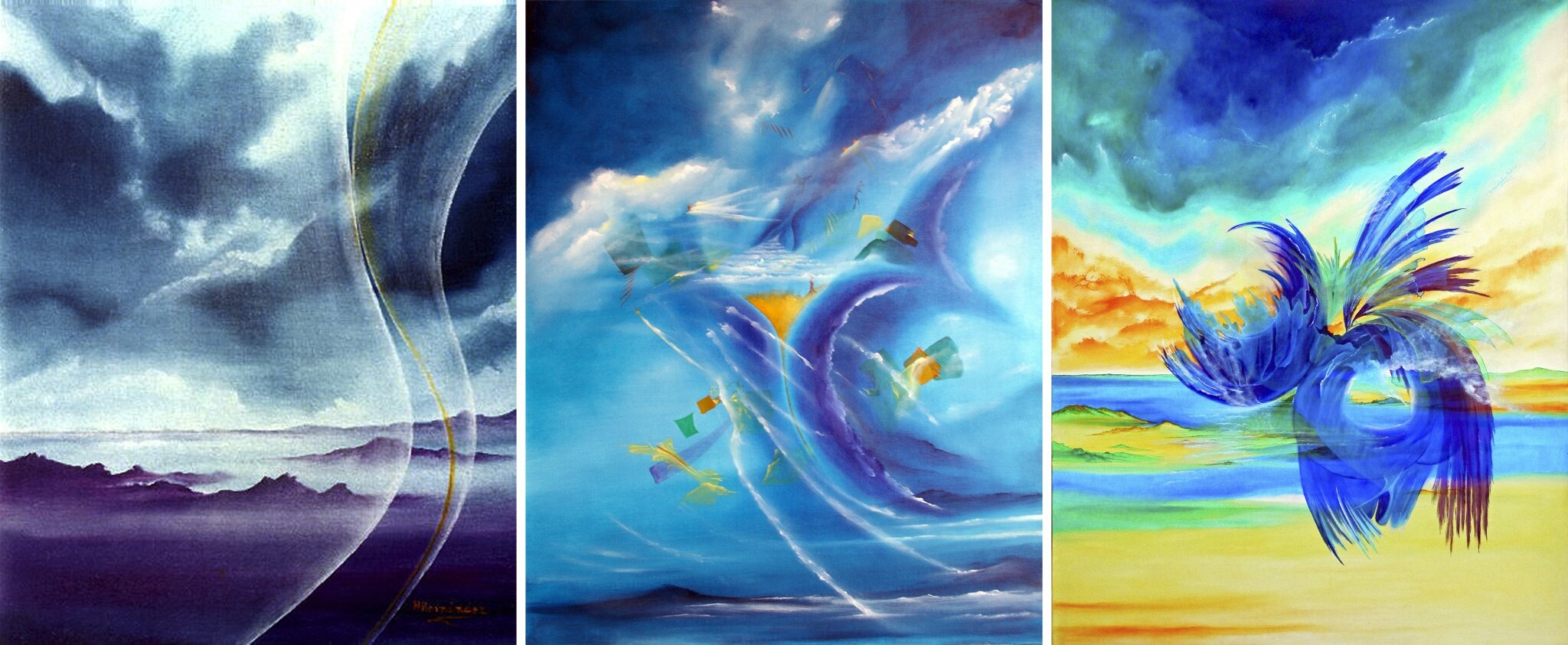 Arte Nubes - Peinture Contemporaine - Pintura Contemporanea - Art Nuages