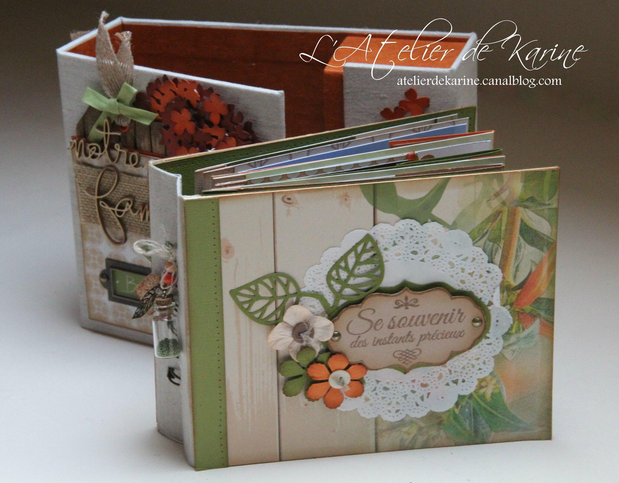 Mini Album et son coffret - Pure Lorelaïl Design 20