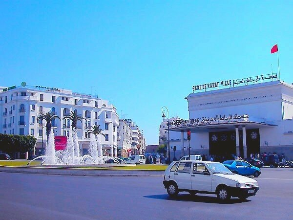 Gare de Rabat Ville